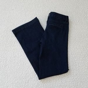 Mossimo Trouser Jeans Women's 4 Mid Waist Blue New